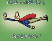 Super-Dad Father's Day Card - Digital Download