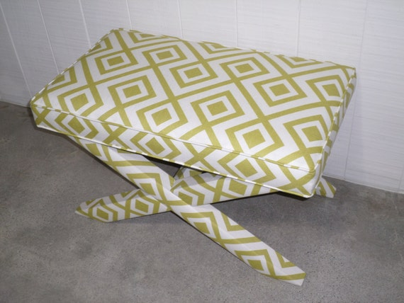 Custom X Bench - Extra WIDE - Design Your Own to Suit Your Space