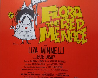 1965 Sing Happy Flora The Red Menace Liza Minnelli John Kander Fred Ebb Song Book Sheet Music