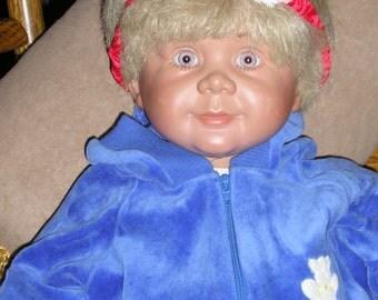 Original Artist Pat Seachrist Weighted Baby Doll ~~Johannes Zook Doll