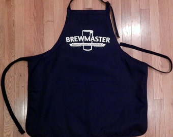 Brewmaster, Summer Outdoors, Brew Day, Homebrewer, Home Brewing, Brew Day BBQ Apron, Birthday Gift, Father's Day Gift for Homebrewer