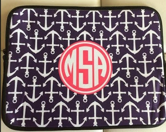 Personalized Laptop Sleeve - Design your Own Laptop Sleeve - Monogram Laptop Sleeve, Monogram Laptop Case