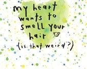 smell your hair (H46-002)