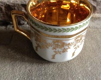 Vintage Gold Demitasse Winterling Bavaria Germany - #4863