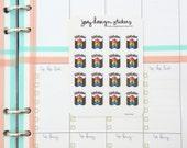Planner stickers, BIRTHDAY, accessories for your Erin Condren, Kikki K, Filofax, Kate Spade planner