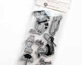 Cling Mounted Rubber Stamps from Graphic 45 - Couture 2