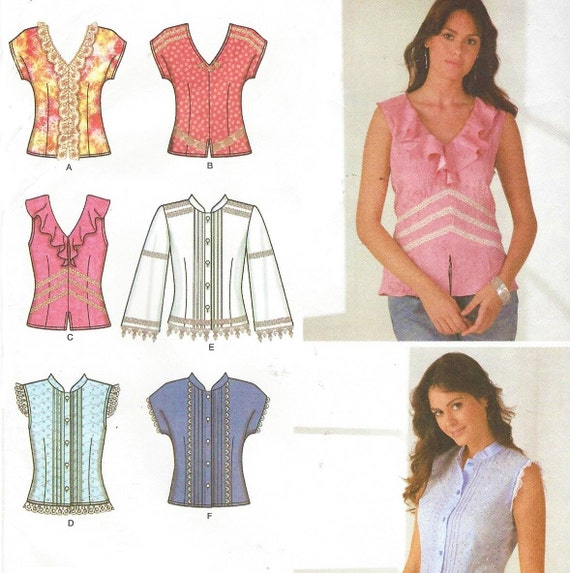 Simplicity Blouse Patterns For Womens 15
