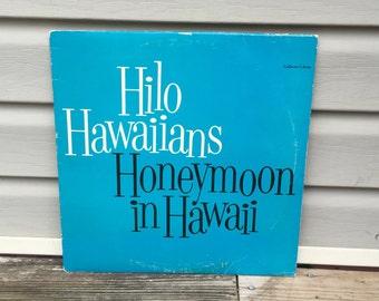 Hawaiian Music Record Hawaii Old Record Album