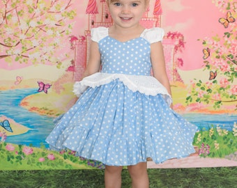 ready to ship size 18-24 months princess cinderella play dress