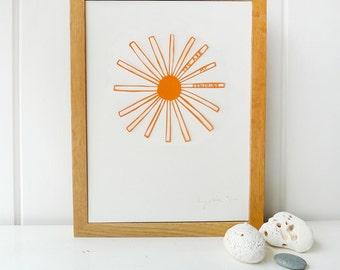 SUNSHINE | paper cutting