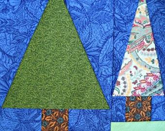Pine Tree Quilt Block Pattern