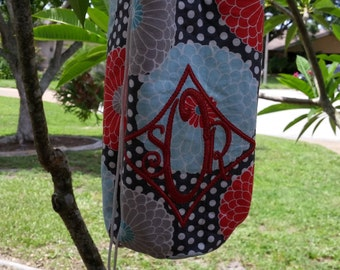 Insulated Water Bottle Carrier- Quilted Water Bottle Carrier Monogrammed