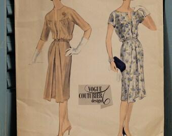 Vogue Couturier Design Pattern Vintage 169