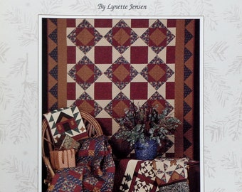 Lynette Jensen Thimbleberries NORTH POLE QUILTS - Quilter Quilting Quilt Pattern Template Instruction Booklet