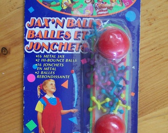 JAX'N BALLS Vintage Toy in original package 1992