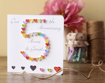 5th anniversary card | Etsy