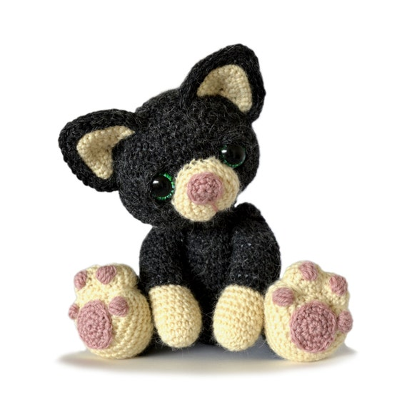 Kitten Cat Amigurumi Crochet Pattern PDF Instant by ...