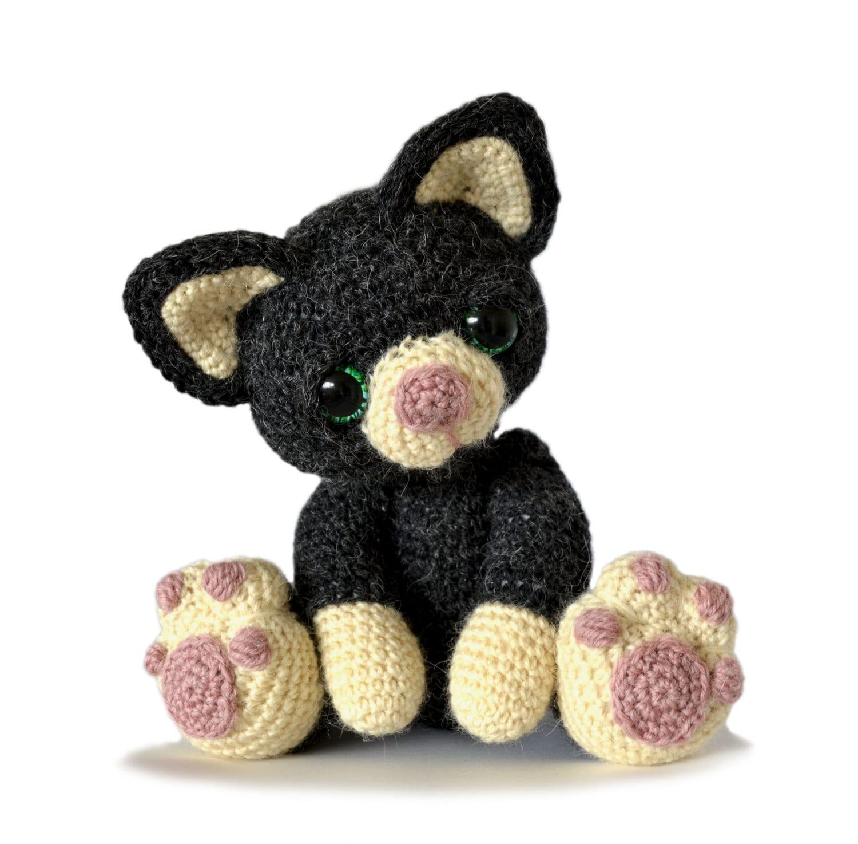 Beautiful Crochet Cat Pattern Elaboration - Blanket Knitting Pattern ...