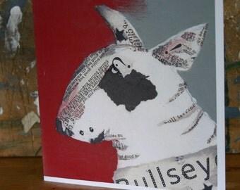 Bullseye Blank Card