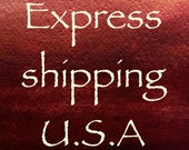 Express shipping  for the United States