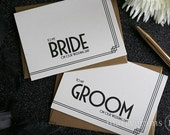 Wedding Day Card to Your Bride or Groom on Your (Our) Wedding Day - Sweet Love Note Before the I Do's - Future Husband & Wife Gift - CS10