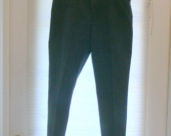black 550 relax fit  taped leg jeans  pants size 12