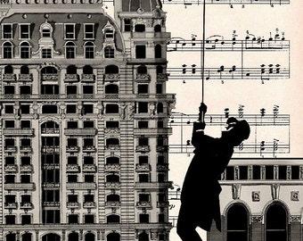 NY Mazurka A3 art print poster giclee wall decor New York Music