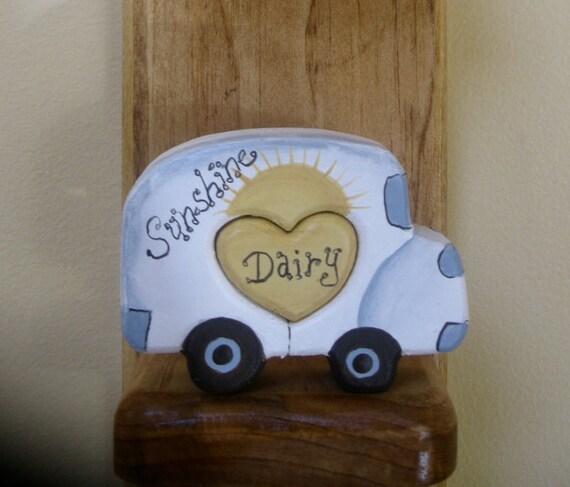 Milk Truck Love Chunk Sunshine Milk Company