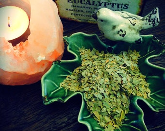 EUCALYPTUS Dried, Loose Herb, Witches Apothecary