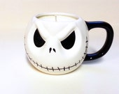 19 oz Jack Skellington Candle - The Nightmare Before Christmas Soy Mug Candle - CHOICE OF SCENT