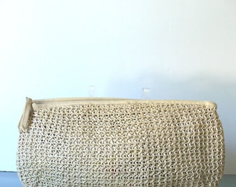 Vintage  Made in Japan Straw Clutch 33 East Imports