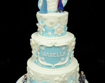 Frozen Cake Decorations: Everything You Need To Decorate This Frozen Theme Birthday Cake