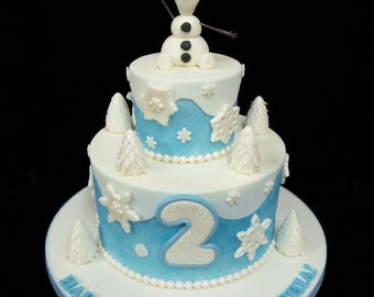 Olaf Cake Decorations: Everything You Need To Decorate This Olaf Theme Birthday Cake