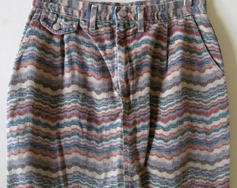 Southwest Denim Skirt L 31 Waist