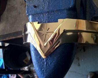 Wonder Woman with starburst movie inspired Tiara \ Headband