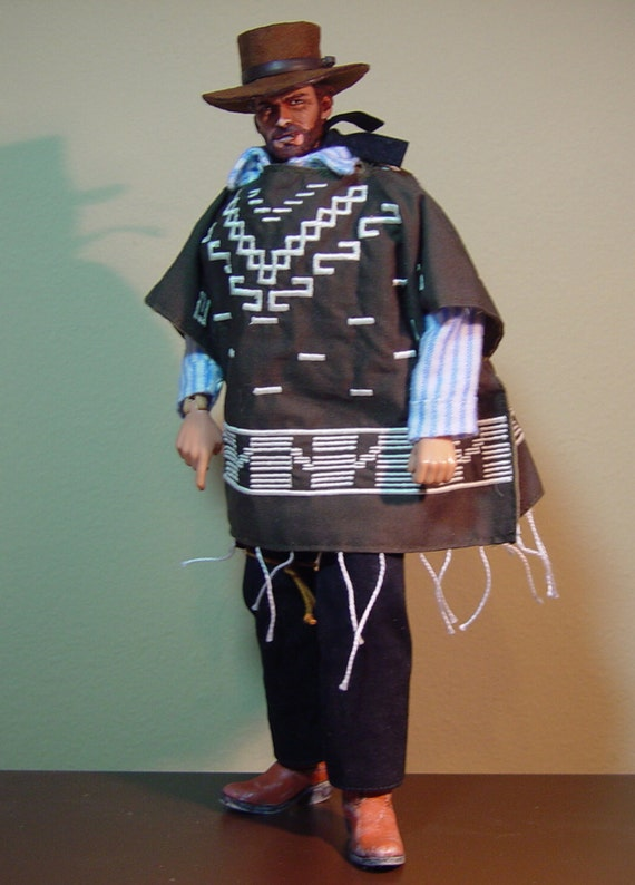 Man With No Name Poncho In 1 6th Scale