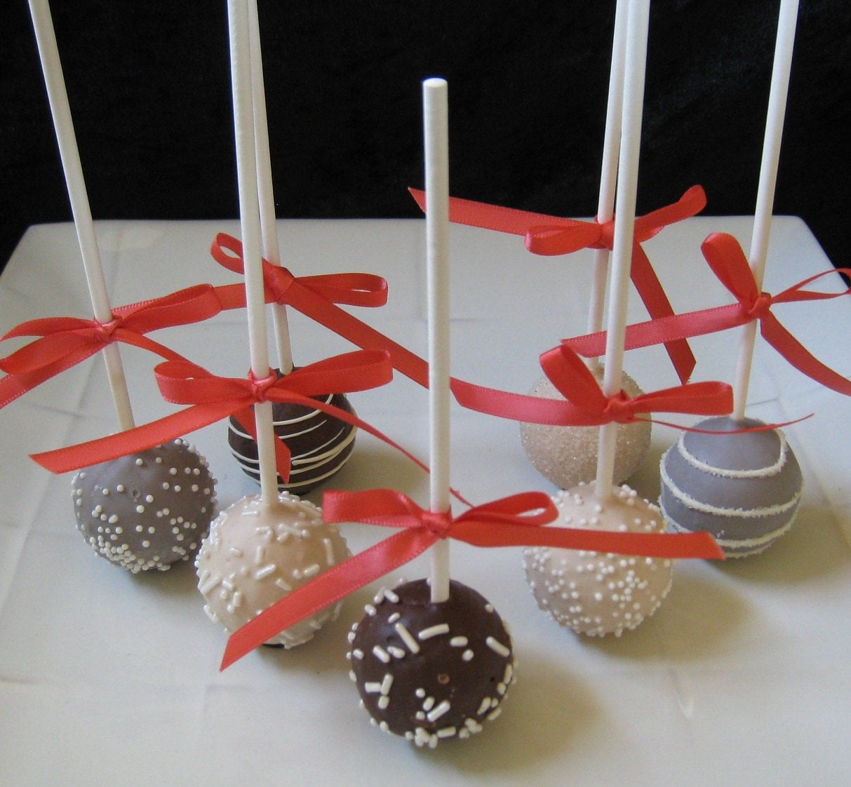Fall Wedding Favors Wedding Cake Pops Made by