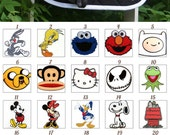 MADE TO ORDER Cartoon Character Patch Saddle Pad Many Characters