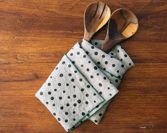 Tea Towel Linen Screen Print