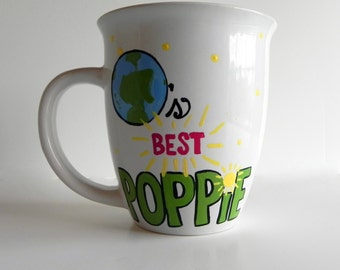World's Best Mug - Hand Painted and Customized