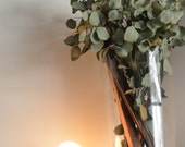 Bullet - Brass & Glass desk Industrial lamp night light