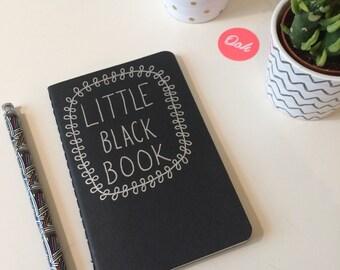 Little Black Book Moleskine Notebook Plain