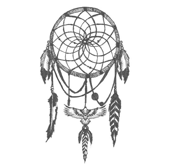 DreamCatcher Temporary Tattoo *High Quality Die Cut Transfer*