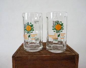 Pair of Vintage Beer Mugs from Germany