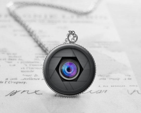 photography jewelry camera lens necklace gifts by