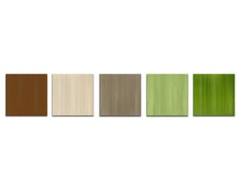 Modern Artwork 'Natures Touch' Painting Contemporary Art Metal Giclee Earth Tones Abstract Home Accents Multi Panel Art Organic Office Decor