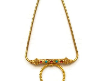 Vintage Onik Sahakian Mughal Jeweled Necklace