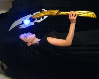 Loki Scepter - LED Light - 3 Feet Tall - Made to Order