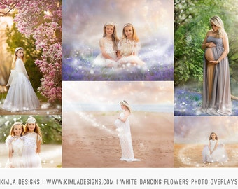 Dancing Flowers Photo Overlays