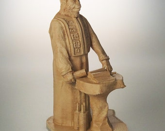 "Planet of the Apes 6"" Lawgiver Statue (Antique Sand)"